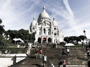 The Sacré-Cœur overlooks Paris.